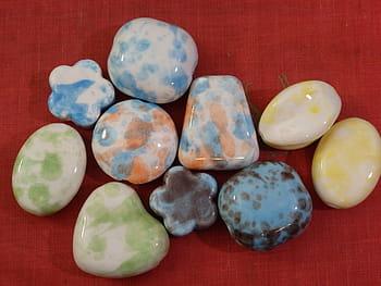 Cuentas de cerámica
